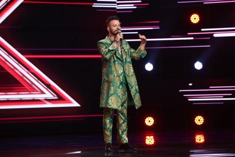 "X Factor 2021, 13 septembrie. Antonio di Liddo a impesionat cu interpretarea melodiei ""Back to black"", de Amy Winehouse"