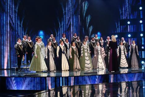 Corul Madrigal, invitat de excepție pe scena X Factor, azi, de la 20.30, la Antena 1