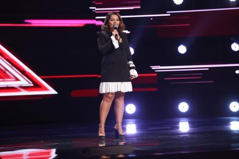 """X Factor 2021, 13 septembrie. Irina Tănase a cântat """"Titanium"""", de Sia, dar al doilea moment i-a convins pe jurați"""