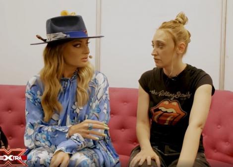 eXtra Factor 2021, episodul 3. Ilona Brezoianu, momentele de amuzament din culisele X Factor 10