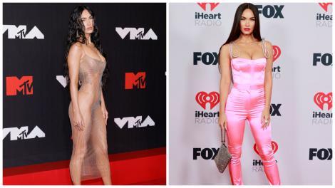 Megan Fox a făcut furori cu ținuta sa la Met Gala 2021. Cum arată într-o rochie cu decolteu abisal și crăpătură pe picior