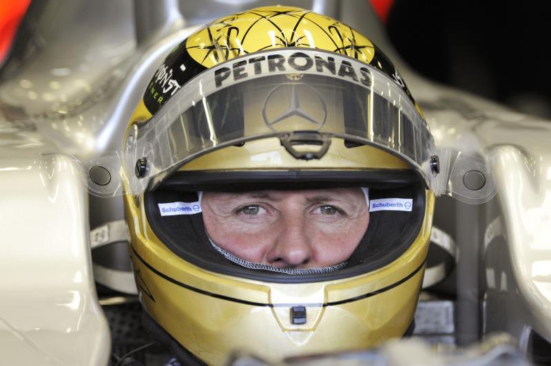 Michael Schumacher laBelgian Grand Prix 2011