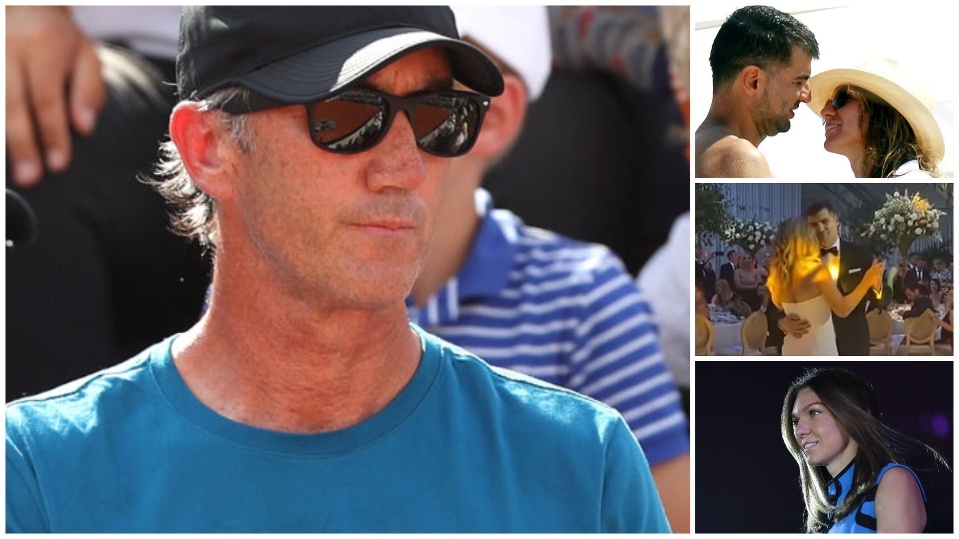 Ce mesaj a transmis  Darren Cahil în ziua nunții Simonei Halep. Imaginile publicate de antrenorul tenismenei|EpicNews