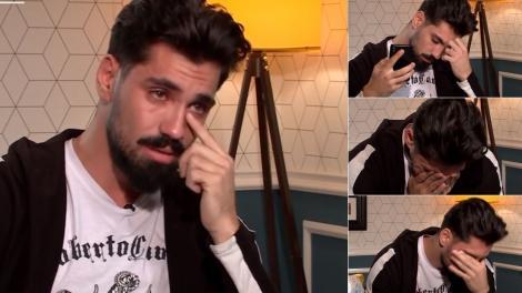 Mireasa sezon 4. Alexandru a plâns în hohote după ce a vorbit cu mama lui la telefon. Ce s-a întâmplat