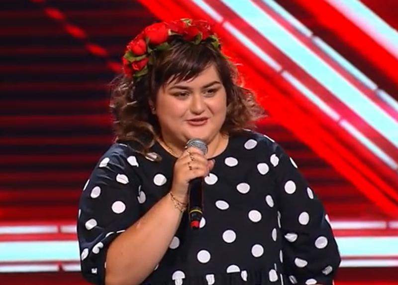Ariana Gălbenuș la X Factor