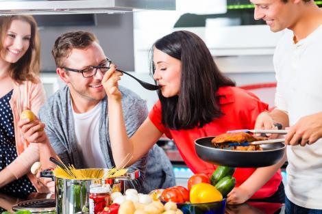 Pasiunea pentru bucătărie leagă relații pe viață
