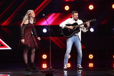 X Factor 2021, 24 septembrie. Delia Ligoțchi a venit pe scenă cu o piesă proprie cu care i-a emoționat pe jurați