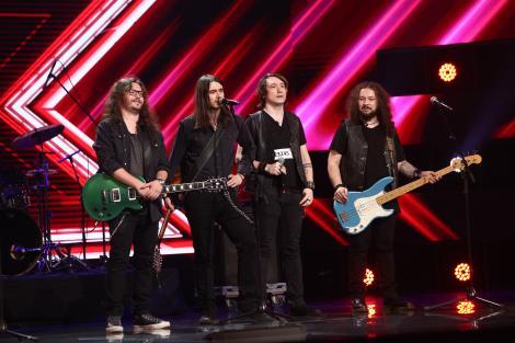 X Factor 2021, 24 septembrie. Secret Society, trupa rock care a cântat superb o piesă de la Bon Jovi