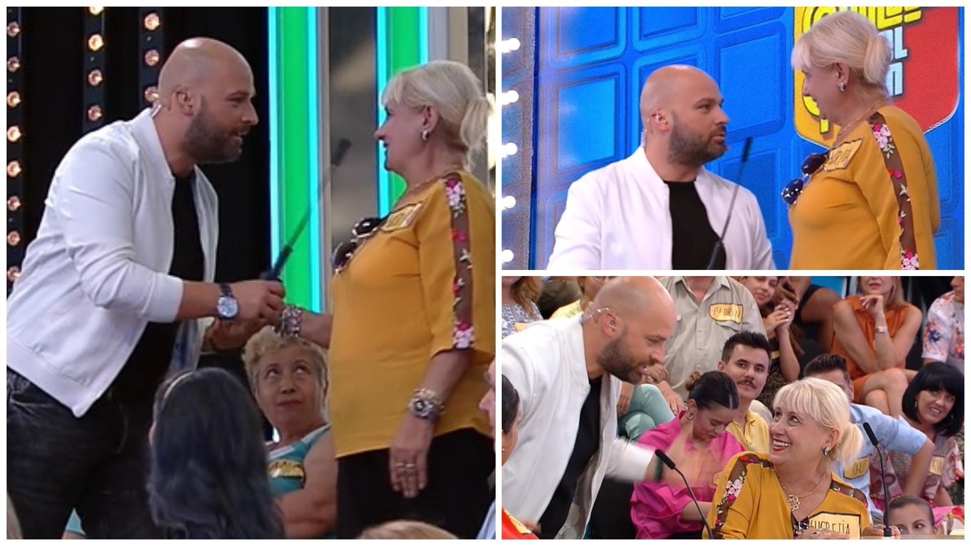 """Prețul cel bun, 24 septembrie 2021. Lucreției nu i-a venit să creadă când Andrei Ștefănescu i-a rostit numele: """"Îmi faceți farsă?"""""""