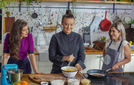 Hello Chef, sezon 2, episod 5. Rețeta de creveți cu sparanghel a la Chef Roxana Blenche. Ingrediente și mod de preparare