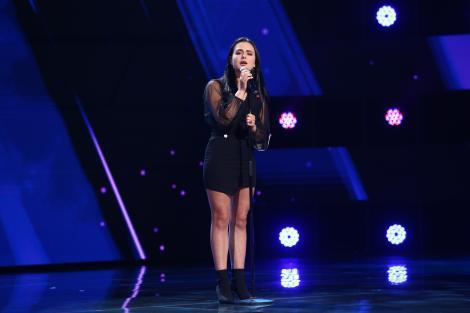 X Factor 2021, 1 octombrie. Sofia Cagno a uimit jurații cu interpretarea piesei Runnin' (Lose It All) de la Naughty Boy