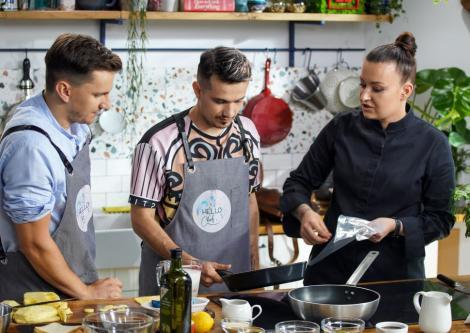Hello Chef, sezon 2, episod 2. Rețeta de tartar cu ton a lui Chef Roxana Blenche. Ingrediente și ponturi de preparare
