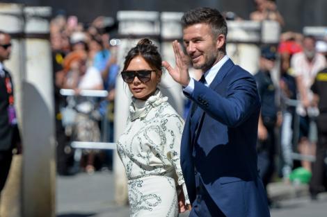 """David Beckham, fotografia aproape nud pe care soția lui a postat-o pe Instagram. """"Ce act suprem de generozitate"""""""