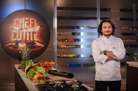 """Chef Florin Dumitrescu te învaţă secretul salatei de vinete: """"Ador să o gătesc vara. O pregătesc în cantități industriale"""""""