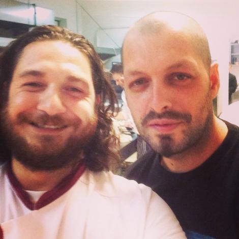 Ombladon și Florin Dumitrescu! Unul este artist, celălalt bucătar-chef! Vezi ce legătură există între ei!