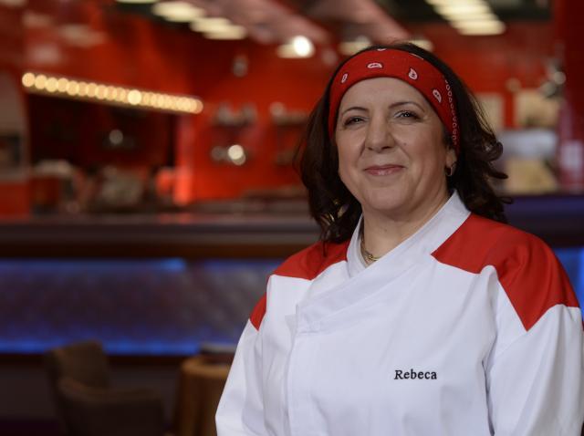 Rebeca Mădaș a făcut un desert Hell's Kitchen!