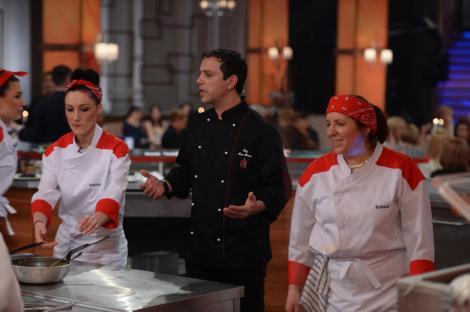 """Chef Sorin Bontea, supranumit Vlad Țepeș la """"Hell's Kitchen – Iadul bucătarilor"""""""