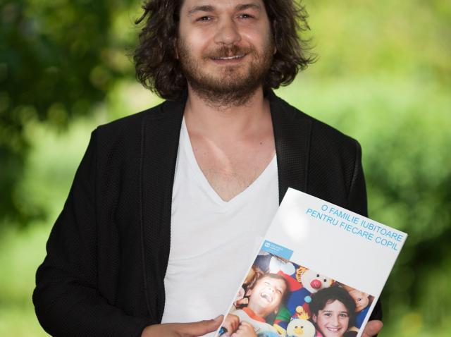 Chef Florin Dumitrescu a fost numit Ambasador SOS Satele Copiilor!