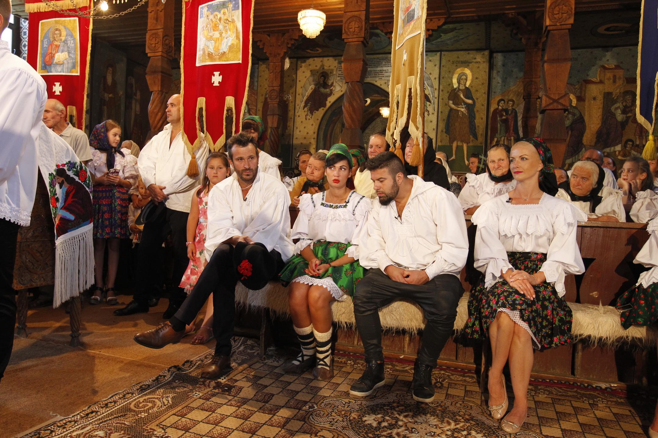 Nicoleta Luciu, Elwira Petre, Nicolai Tand și Edi Stancu au organizat cea mai mare nuntă din Maramureș