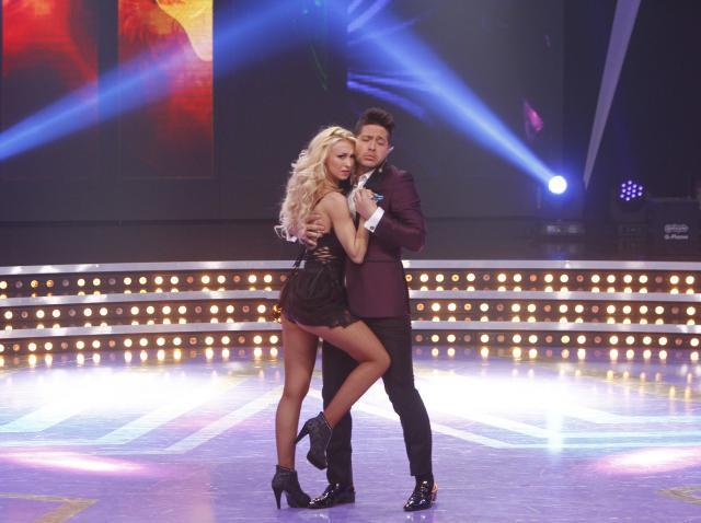 Incredibil! Jorge a pupat-o pe Andreea Bălan, pe gură, în ultima semifinală România Dansează