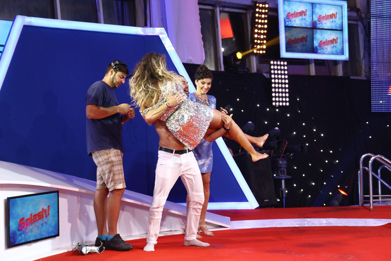 """Diana Munteanu era să se înece la finala """"Splash! Vedete la apă"""""""