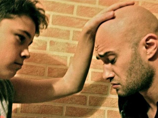 Moment emotionant intre Mihai Bendeac si fratele sau, la filmarile TEATRU TV!