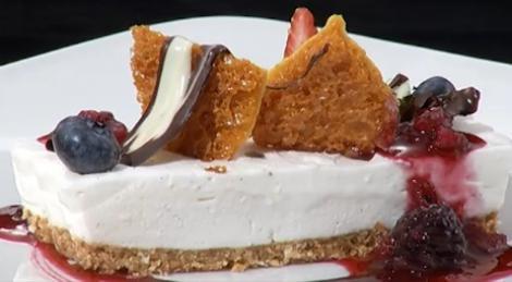 Baileys cheese cake preparatul special al lui Daniel Grosu
