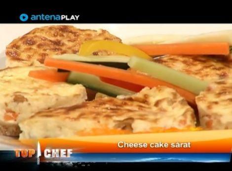 Cheesecake sărat – o rețetă delicioasă a la Mirela Ivașcu