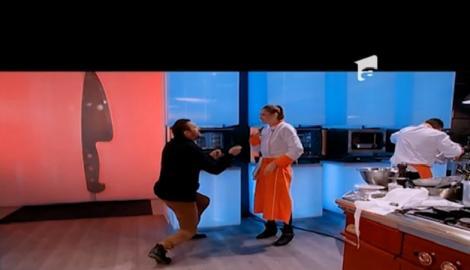 Chef Nicolai se roagă pentru muffins-urile Alexandrei