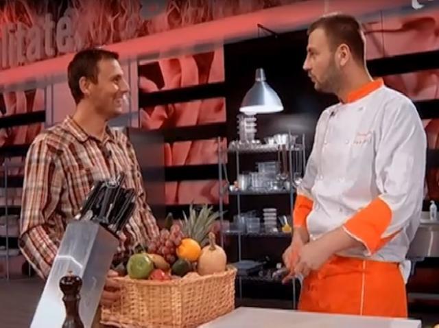 """Daniel Grosu a gătit pentru fratele său: """"Reţeta asta vine din suflet!"""""""