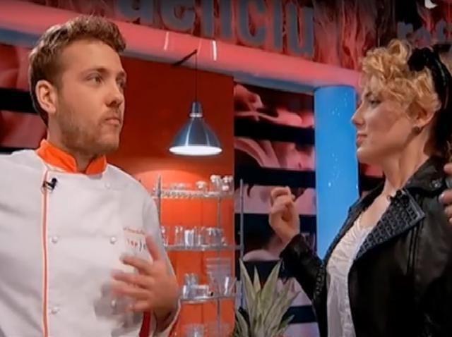 Alexandru Iacob, susţinut de sora sa, la Top Chef!