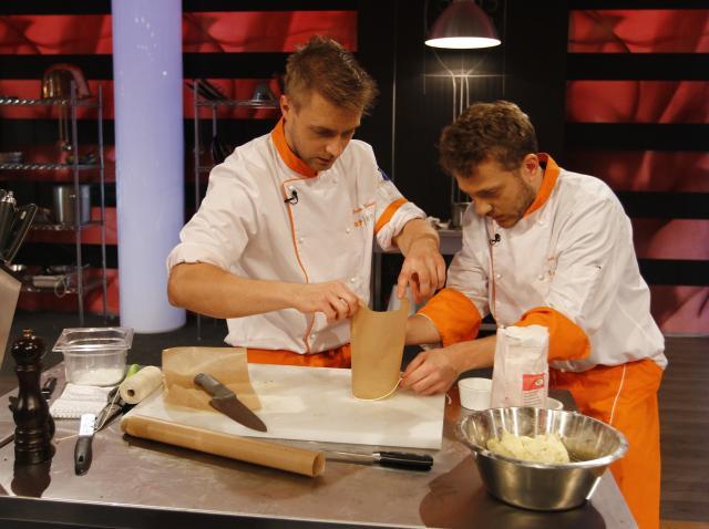 Înţelegere neaşteptată între doi finalişti, la Top Chef