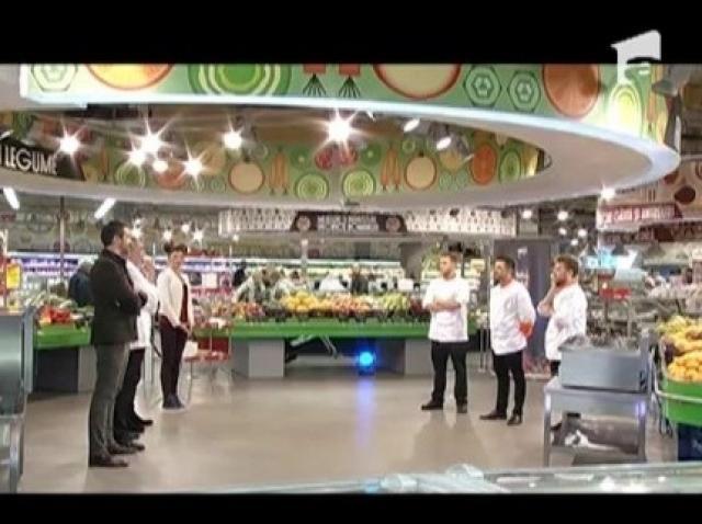 Proba Mega Image! Concurenții au gătit pentru clienții de soi ai sponsorului emisiunii