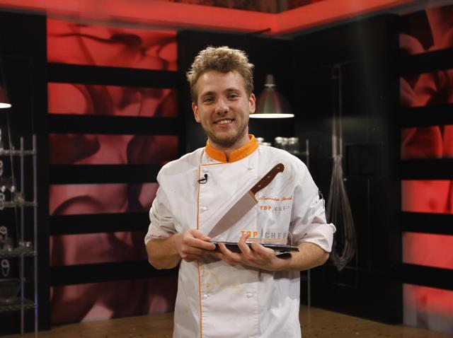 """Alexandru Iacob, câştigătorul trofeului  """"Top Chef"""""""