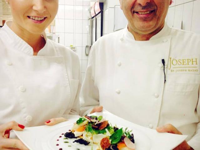 Octavia Geamănu a luat lecţii de gătit de la chef Hadad!