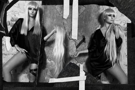 GALERIE FOTO! O cunoști de undeva? Nu-i Gaga, ci chiar... Delia!
