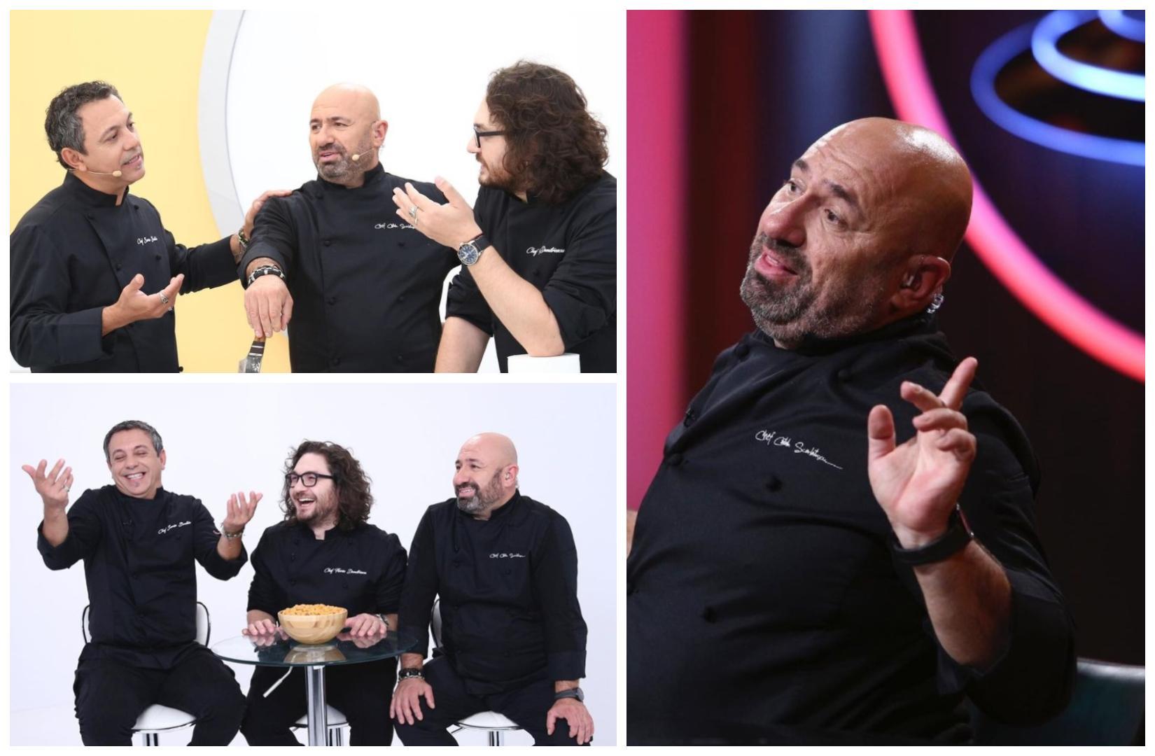 Colaj cu Florin Dumitrescu, Sorin Bontea și Cătălin Scărlătescu, în sezonul 9 de Chefi la cuțite