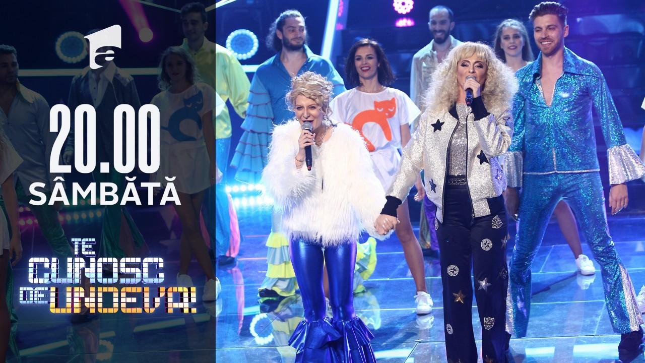 În marea finală, Ana Baniciu și Raluka s-au transformat în Cher & Meryl Streep - Super Trouper