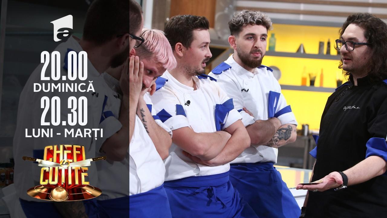 Chef Dumitrescu, folosește super amuleta. Concurentul eliminat primește o a doua șansă!