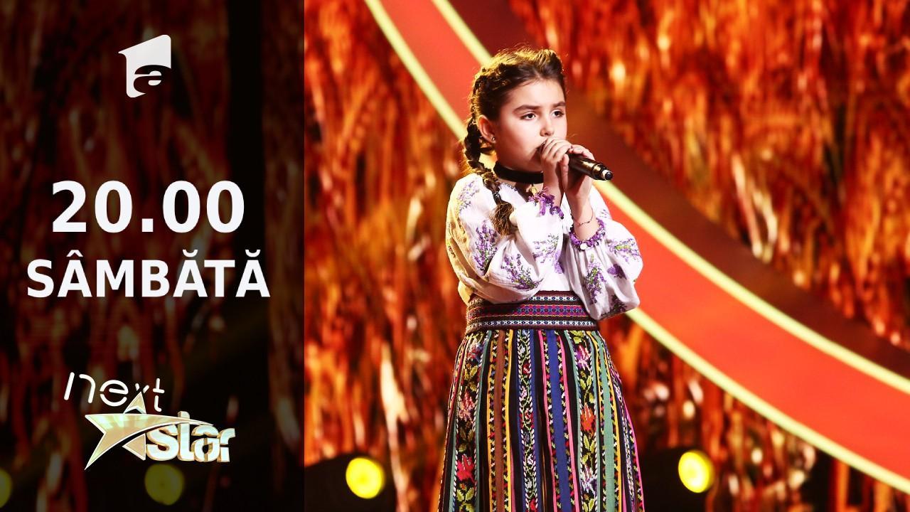 Next Star - Sezonul 10: Filofteia Bârdeanu - interpretează muzică populară din zona Mehedinți