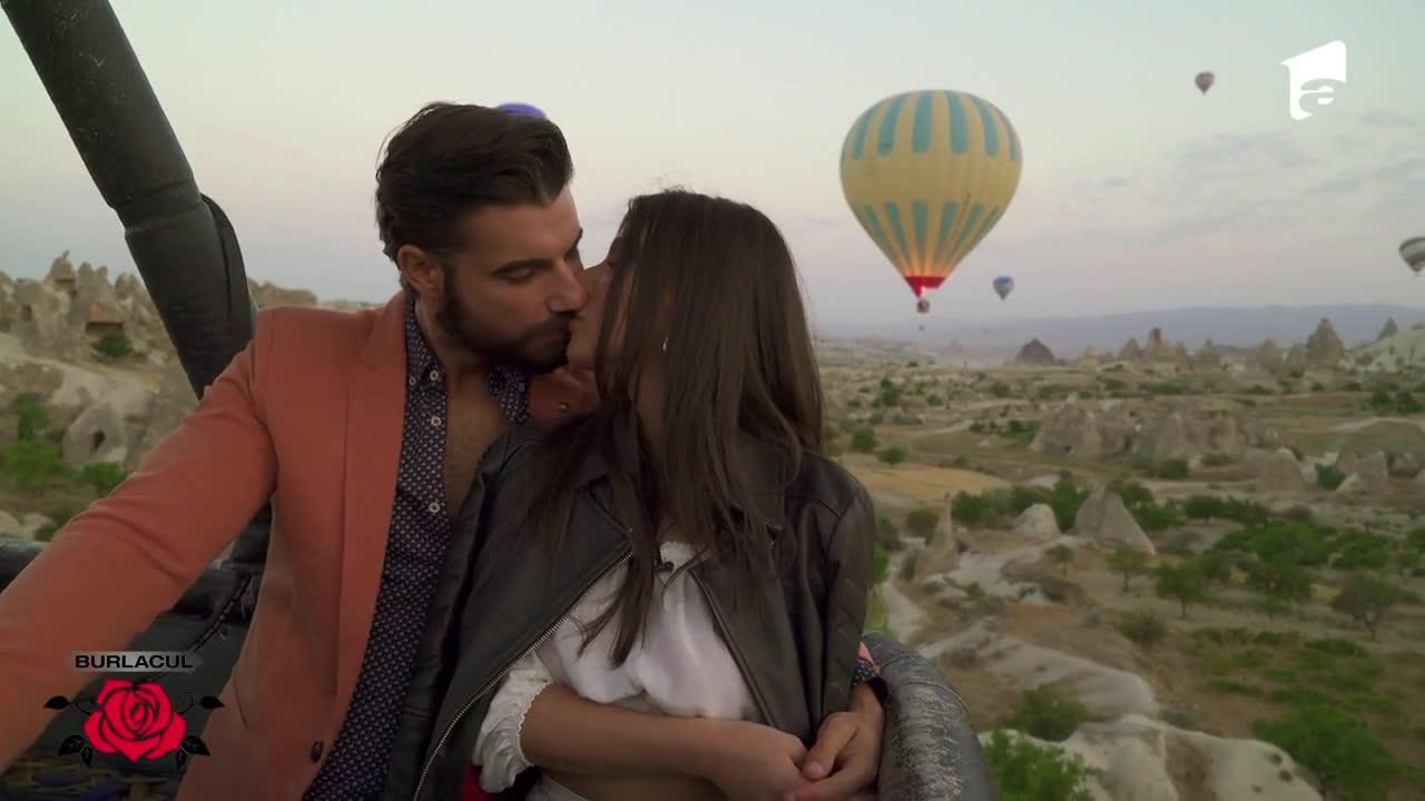 Ana Bene, şi Andi Constantin, plimbare cu balonul cu aer cald!