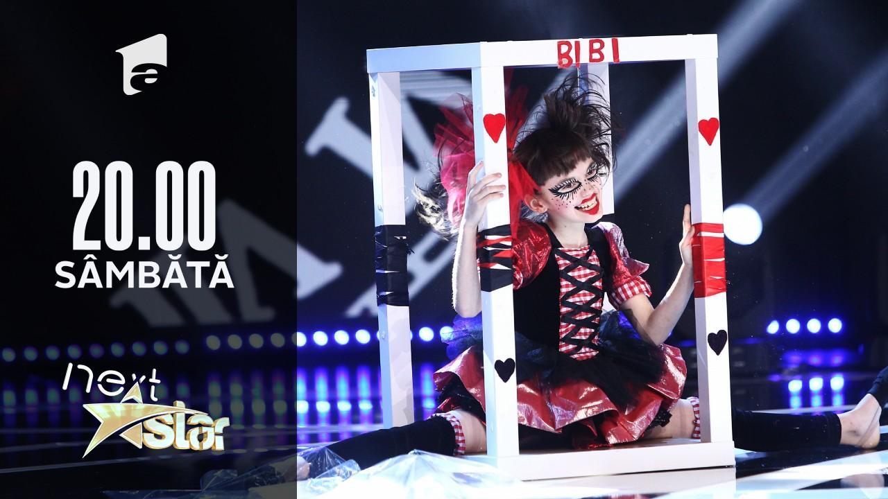 Next Star - Sezonul 10: Bianca Zamfir – moment de teatru și acrobație