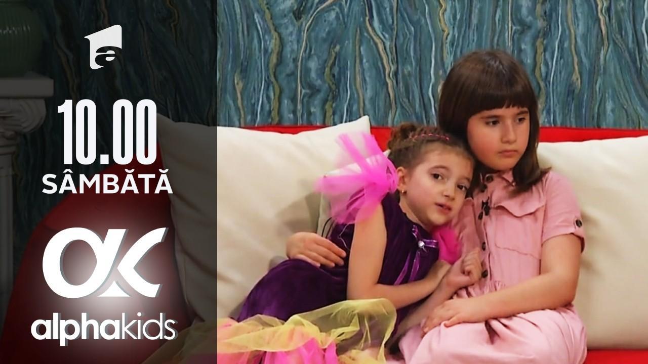 Alpha Kids, ediția 5. Rebeca şi Sofia, în Camera Secretă! Ce a păţit tonomatul cu bomboane
