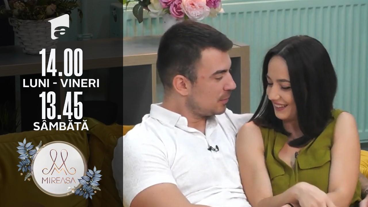 Mireasa Sezonul 4, 16 septembrie 2021. Victor și Andrada sunt un cuplu oficial