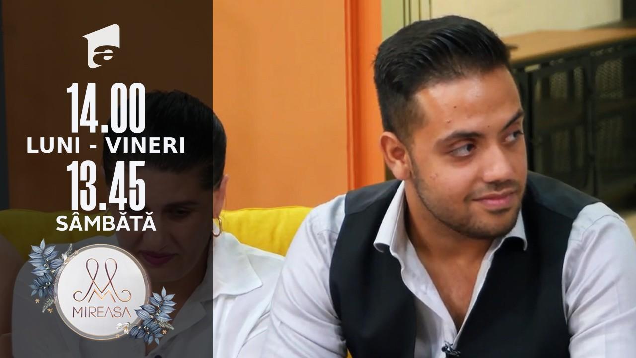 Mireasa Sezonul 4, 17 septembrie 2021. Mohamed, speranța de a intra în grațiile Isidorei!