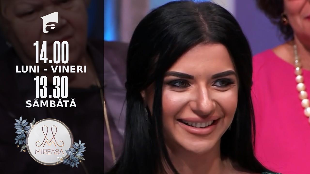 """Gala Mireasa Sezonul 4, 25 septembrie 2021. Cine este Amalia, noua concurentă în Casa """"Mireasa"""""""
