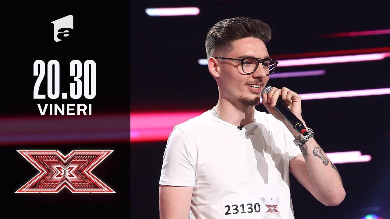 X Factor sezonul 10, 15 octombrie 2021. Jurizare Costin Alexandru Popovici