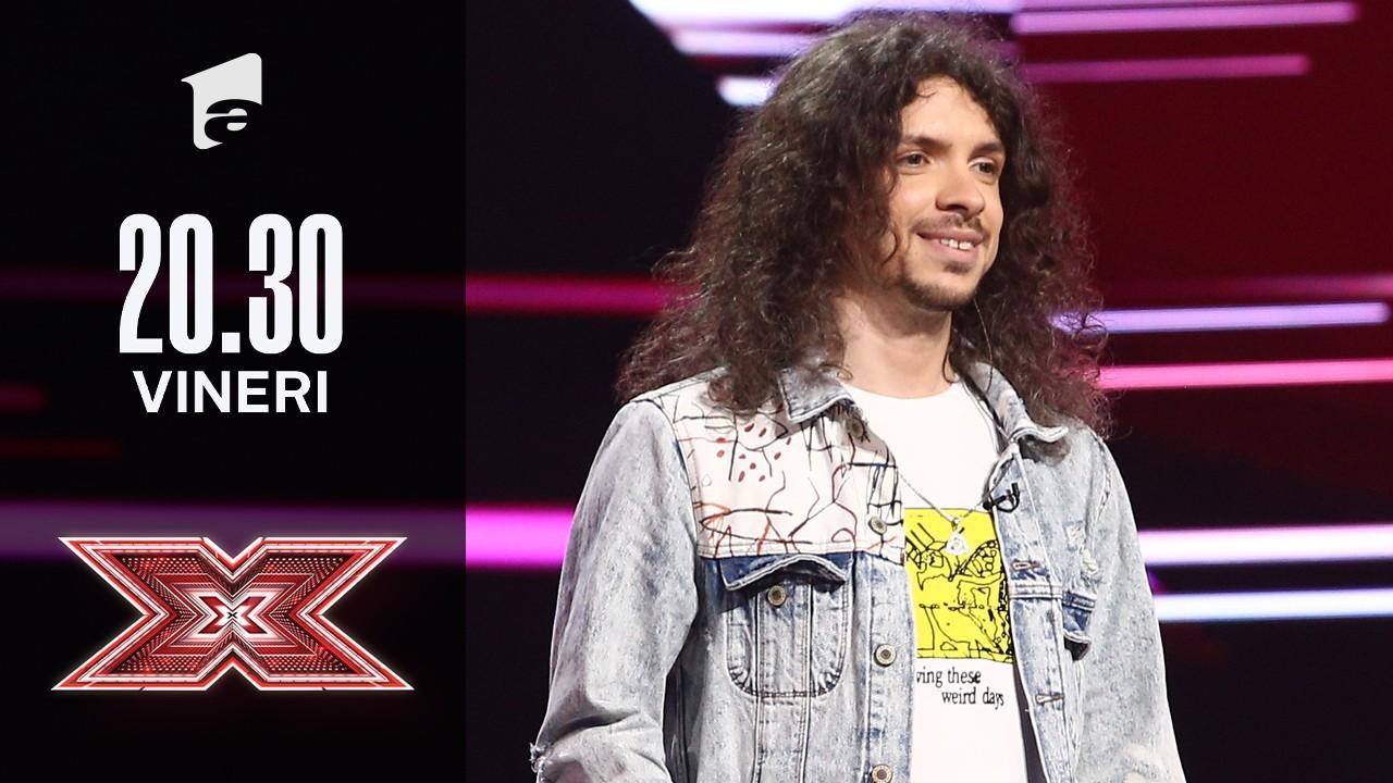 X Factor sezonul 10, 15 octombrie 2021. Jurizare Mădălin Antonesei