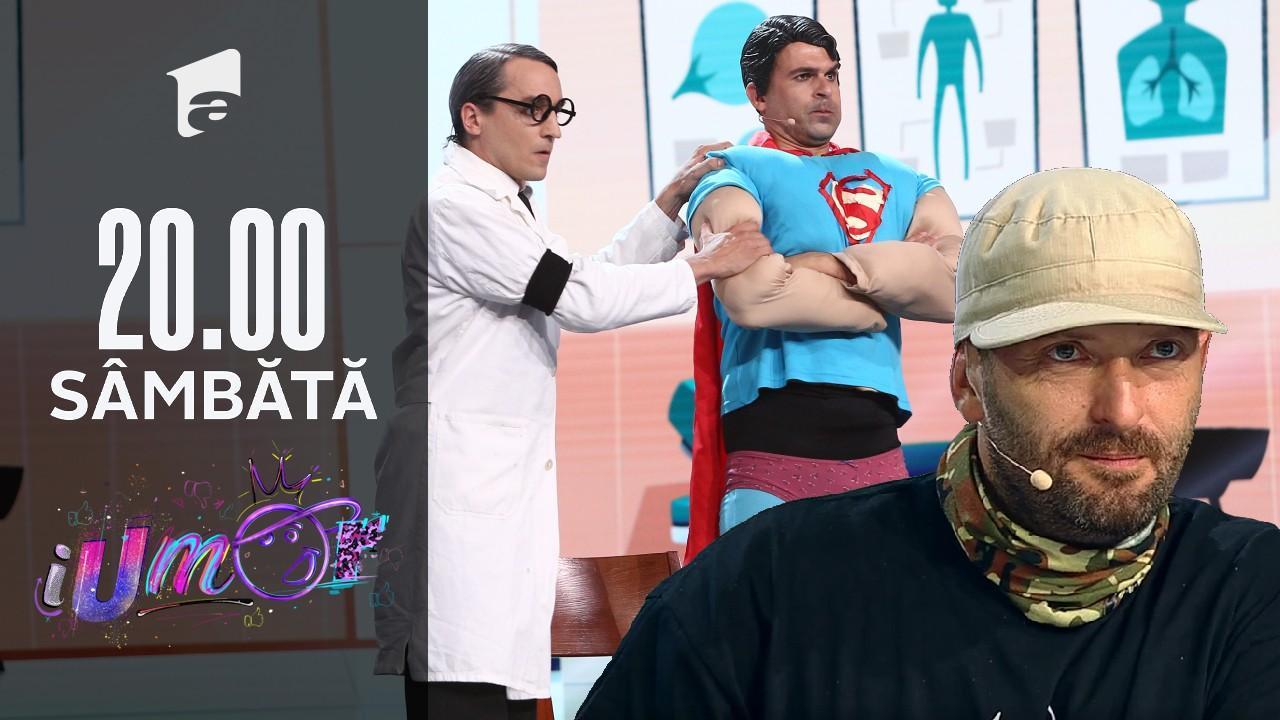 iUmor Sezonul 11, 16 octombrie 2021. Superman la dentist. Super-eroul nu a mai fost atât de speriat!