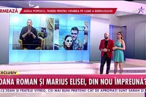 """Primele declarații ale Oanei Roman după surpriza primită de la Marius Elisei: """"Este foarte complicat"""""""